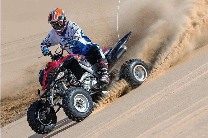 (Private Combo Tour)Desert safari, Camel ride, Quad Bike and Dune Bashing