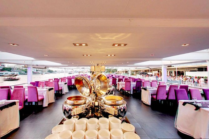 The Chaophraya Cruise : LUXURY 5 STAR Cruise on Chaophraya River