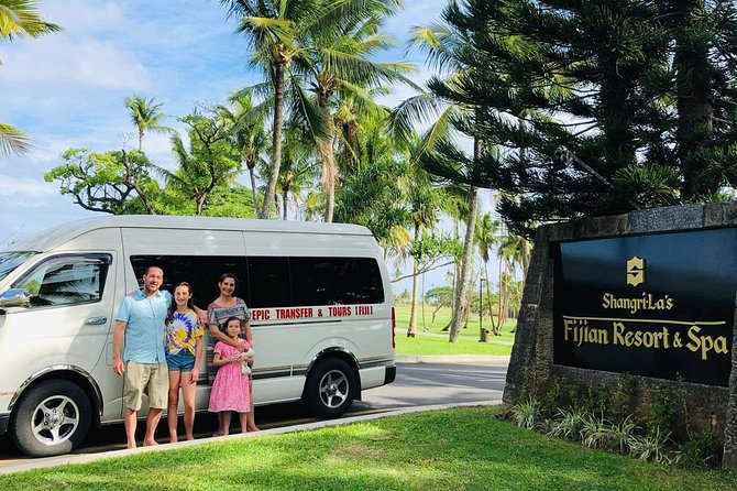 Private Departure Transfer - Shangri-La Fijian Resort to Nadi Airport