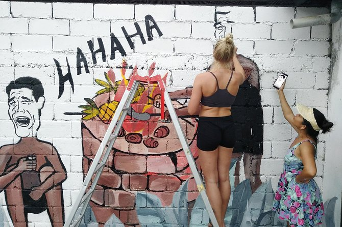 Make your own mural with Friska