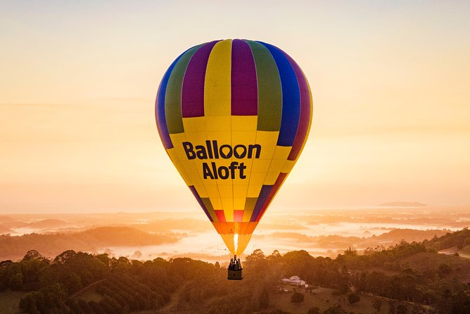 Hot Air Ballooning Over Byron Bay Including a Gourmet Breakfast