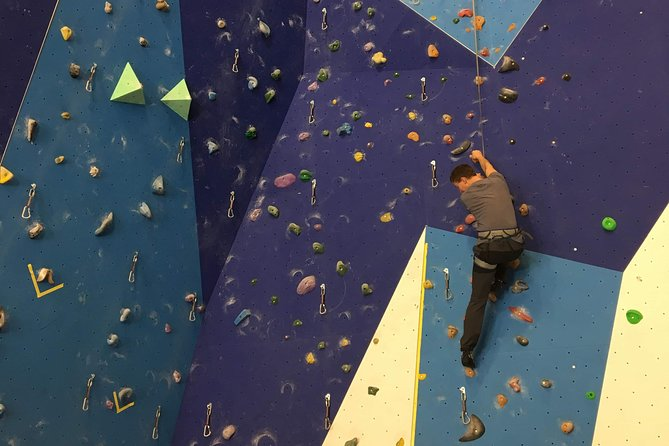 Climb Norway's Highest Indoor Climbing Wall