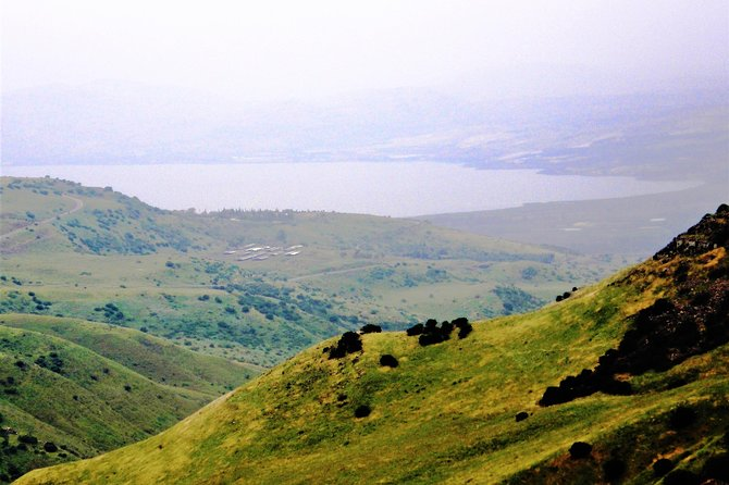 View of the Sea of Galilee from the Golan