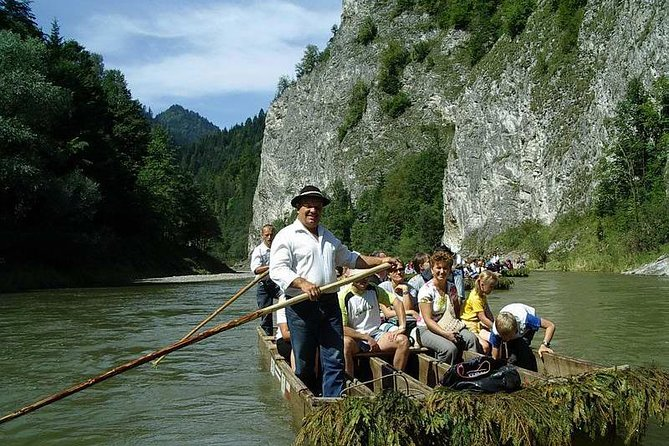 Rafting down the Dunajec River + Castle in Niedzica photo 1