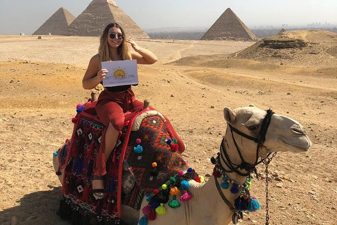Camel Or Horse Riding At The Giza Pyramids Area