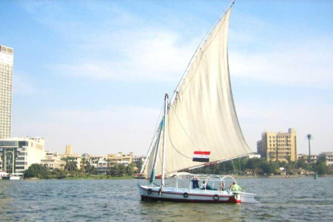 Cairo Felucca Boat On The Nile