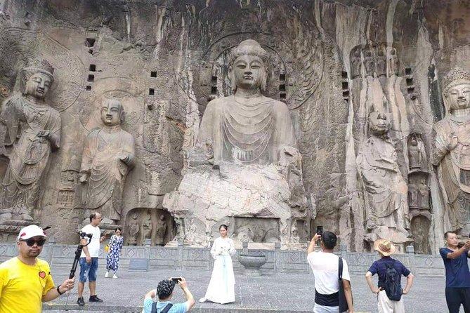 Luoyang Longmen Grottoes&Xiangshan temple, Guanlin temple start from Zhengzhou