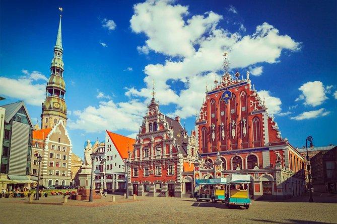 Vilnius-Riga One-Way Sightseeing Tour Bus