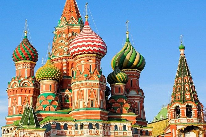 Moscow city tour with visit to St. Basils & Red Sq. with transport photo 1