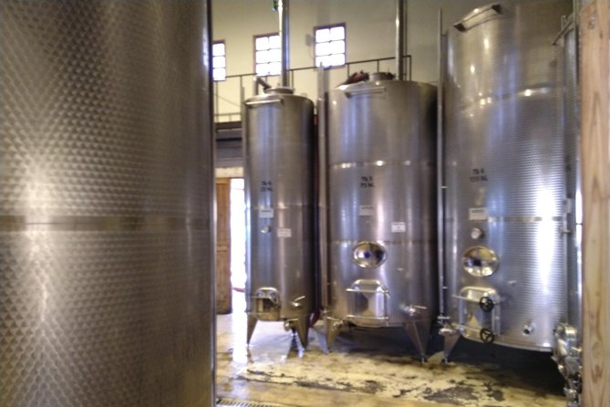 Inside the wine factory