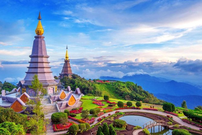 Doi Inthanon National Park, Waterfall and Royal Project from Chiang Mai
