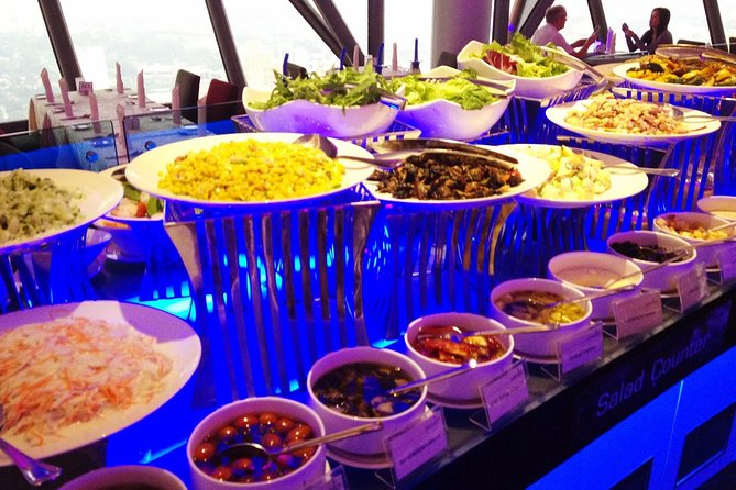 Dining Experience at Atmosphere 360 Restaurant in Menara Kuala Lumpur photo 2