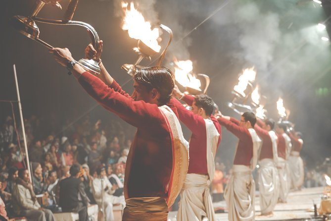 Observe Evening Prayer Ceremony at Varanasi - A Guided Tour in a Private Car