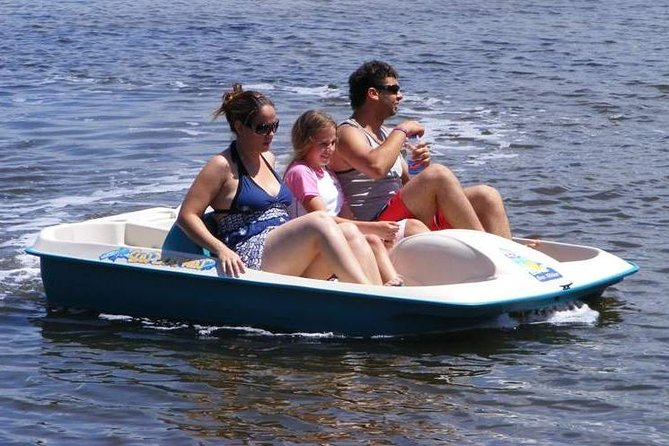 Glass Boat, Paddle Boat, Banana Boat
