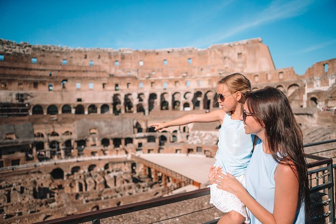 Kids friendly Colosseum Tour with optional Arena Entrance