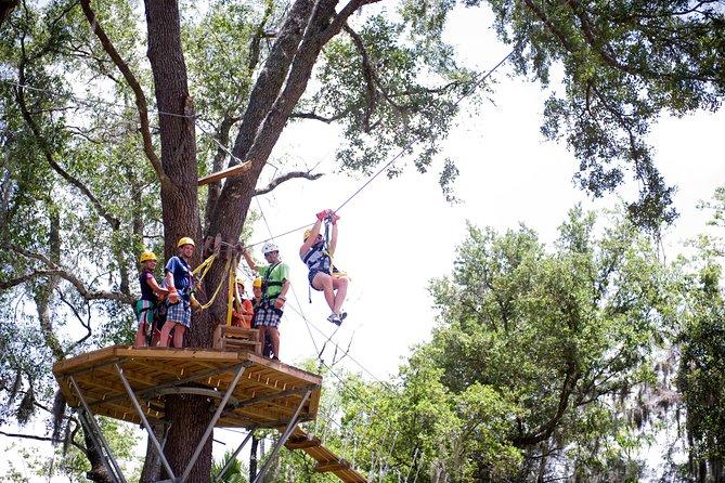 Treetop Express Zip Line Tour
