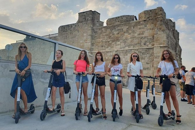 Drive around the city with Segway Ninebot electric scooter