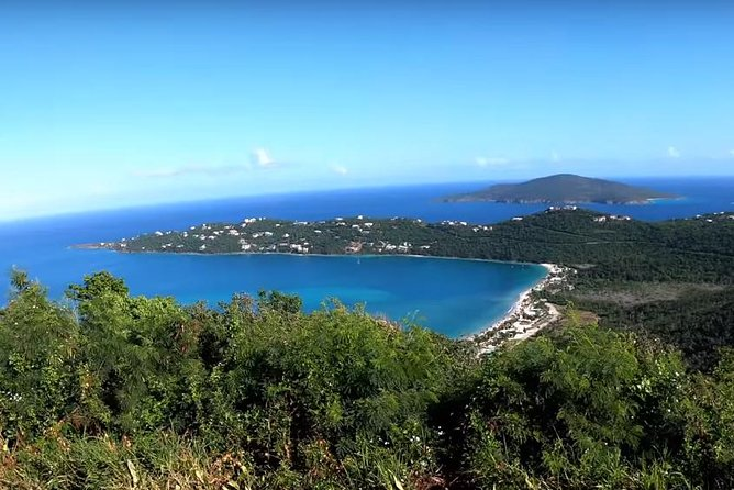 St. Thomas Island Tour with Mountain Top and Magens Bay Beach