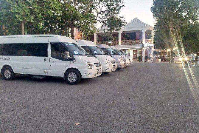 Private Transport Hoi An to City Da Nang 4-16 seats