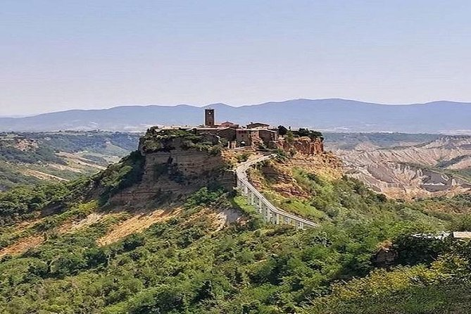 Civita di Bagnoregio and Wine tasting trip from Civitavecchia port