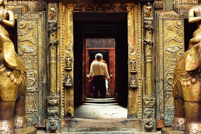 Temple Durshan in Kathmandu