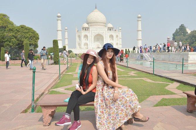From Delhi: Private Taj Mahal Sunrise & Sunset Over Night 2 Day Tour