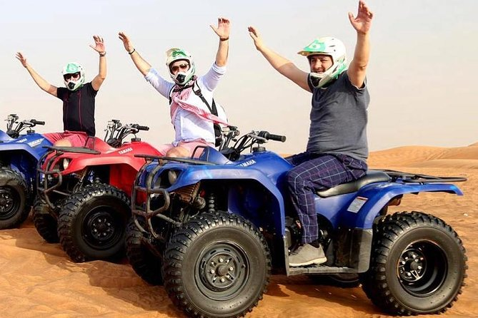 Morning Desert Safari with Self-Drive Quad Biking Open Desert