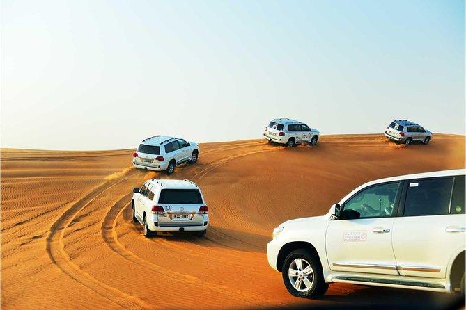Abu Dhabi desert safari with sand boarding with BBQ dinner | MyHolidaysAdventures