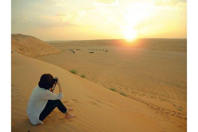 Abu Dhabi Desert Safari at Sunrise MyHolidaysAdventures