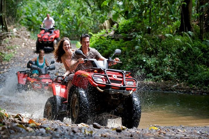 ATV - El Valle Beach & Waterfalls (Samana Area), Private Tour