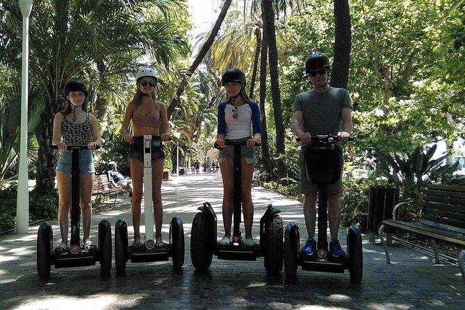 Malaga Segway Park, Port & Castle Tour