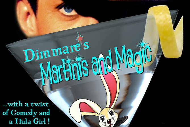 Dimmare's Martinis and Magic ® Drink Package