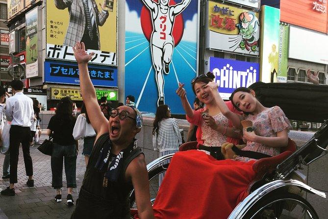 Osaka Rickshaw Tour in New World