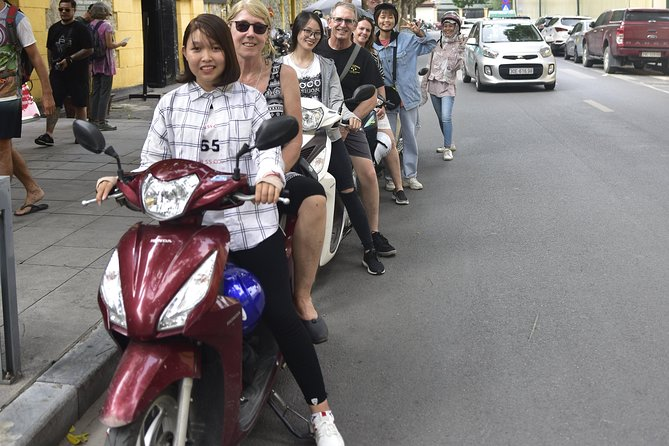 Hanoi City Street Tour On A Motorbike