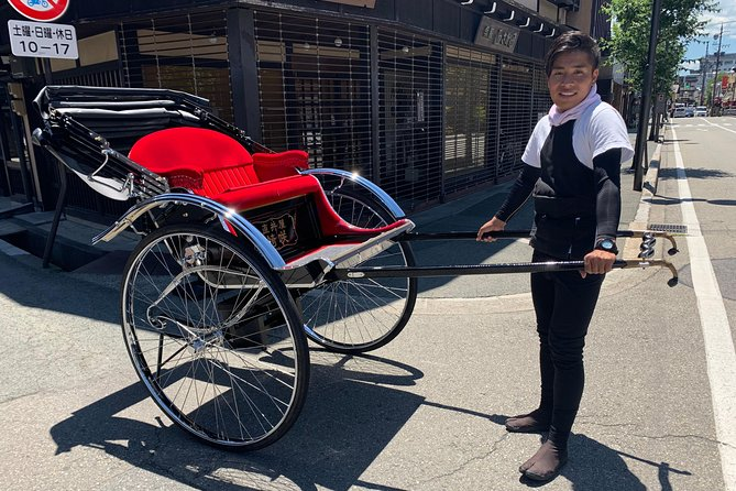 Rickshaw De Go ---Transport from your hotel to destination inside Takayama---