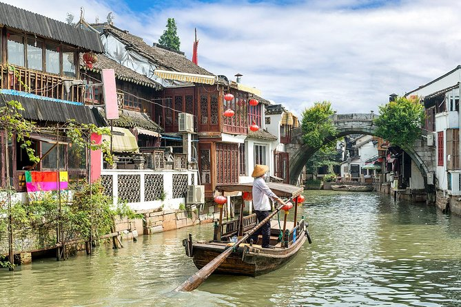 Private Shanghai 2-Day Tour to Highlights in Downtown and Zhujiajiao Water Town