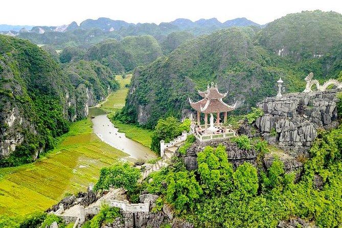 Day Tour Hoa Lu - Tam Coc - Mua cave: Buffet lunch, Boat, Bike, Hiking Mountain