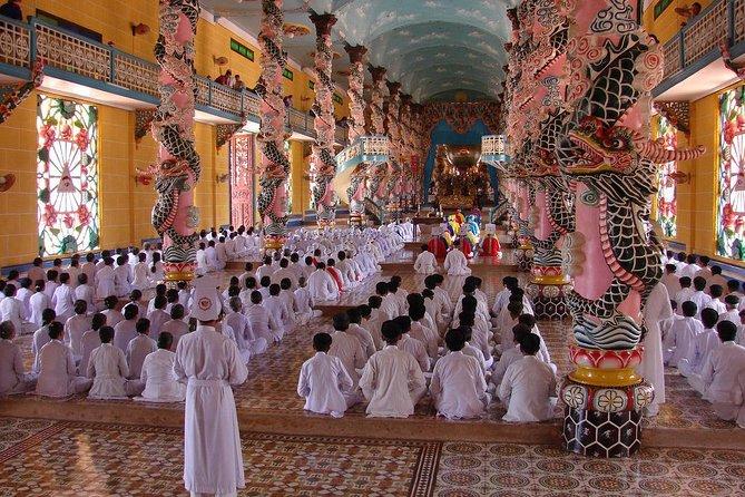 Cao Dai Temple and Cu Chi Tunnel Tour - Private