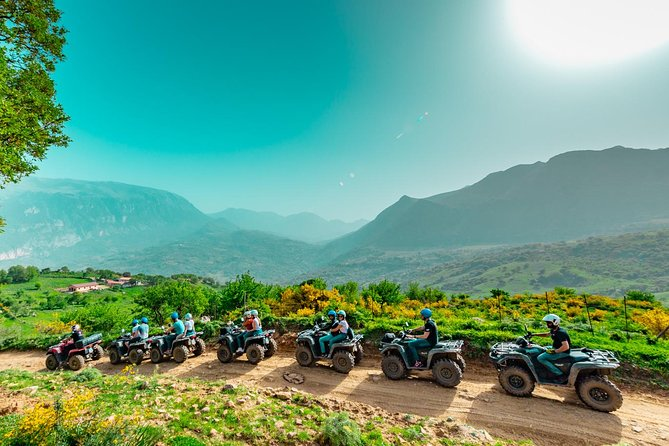 Excursion along the borders of Cefalù - 1h - Quad/ATV