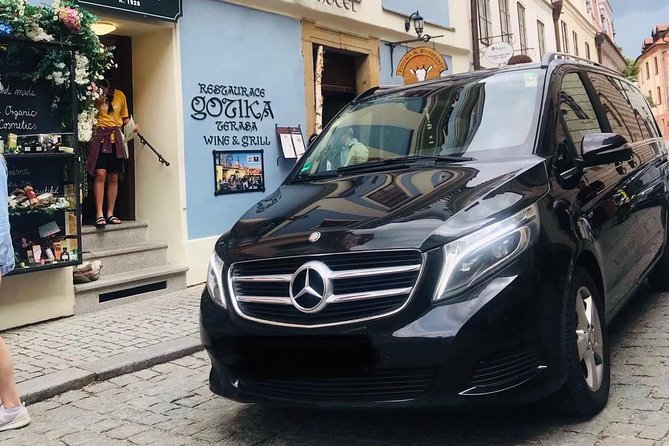Private Transfer from Prague Hotel to Florenc Bus Station