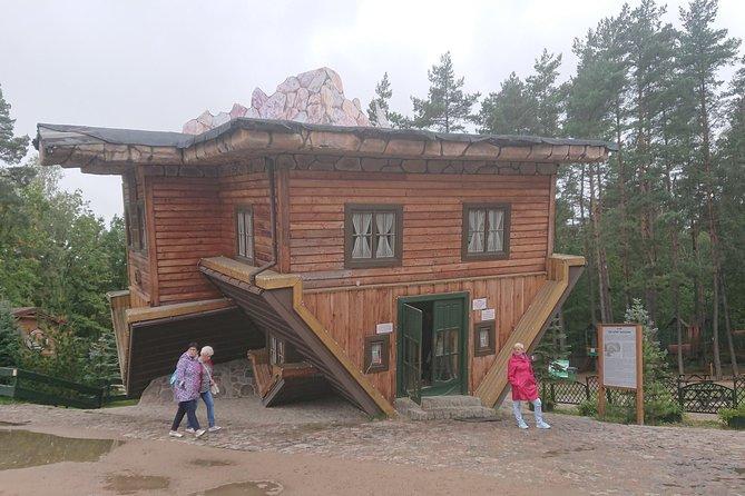 Upside down house in Szymbark - a trip around the Kashubian Region