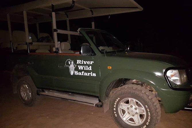 Night Game Drive - Zambezi National Park - River Wild Safaris
