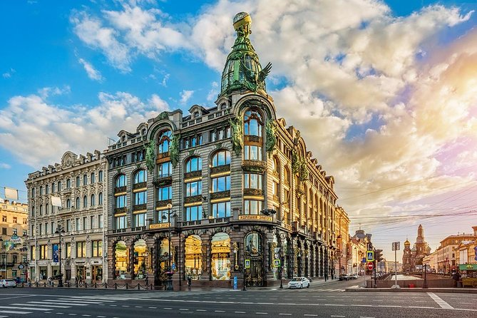 St. Petersburg Private Sightseeing Tour and Neva River Cruise