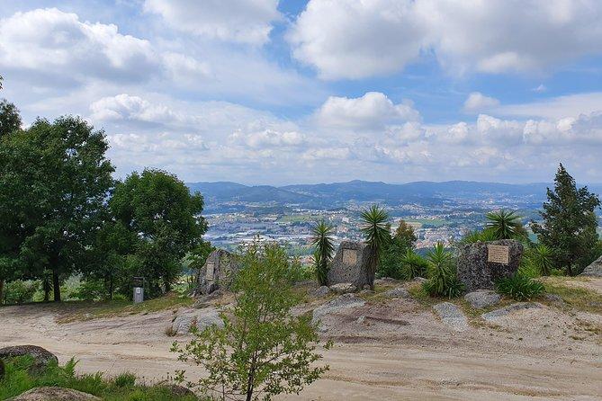 Guimarães - The surrounding hills.
