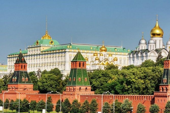 Kremlin, Red Square and Cathedrals Tour