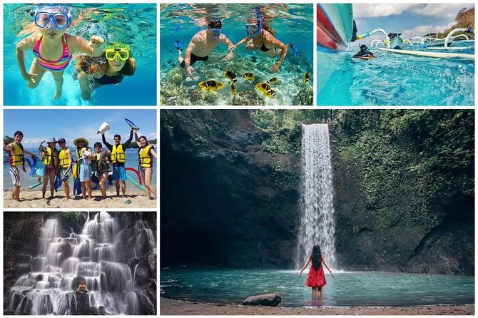Blue Lagoon Snorkeling and Lunch - Kanto Lampo - Tibumana Waterfall-All Included