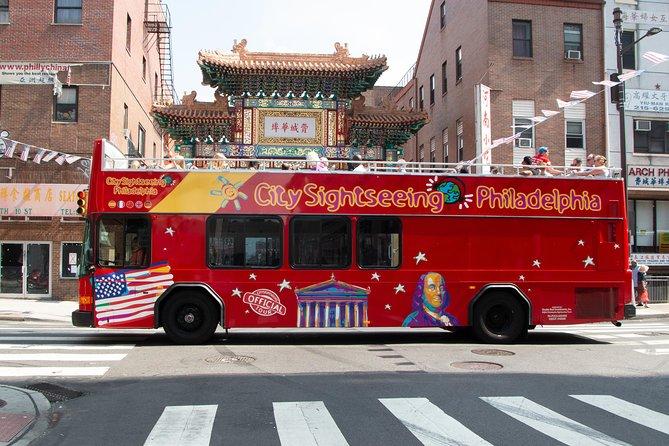 Philadelphia: Hop-On Hop-Off Bus and Observation Deck Ticket
