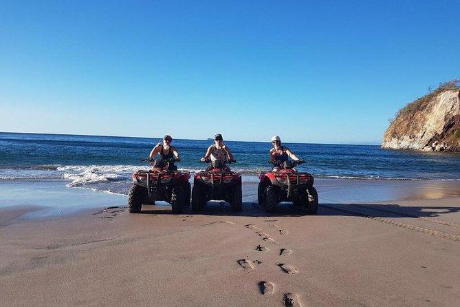 Playa Minas & Puerto Viejo ATV & Snorkel Combo