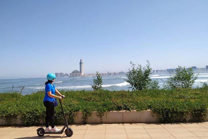 Tour des attractions de Casablanca en Trottinette électrique.