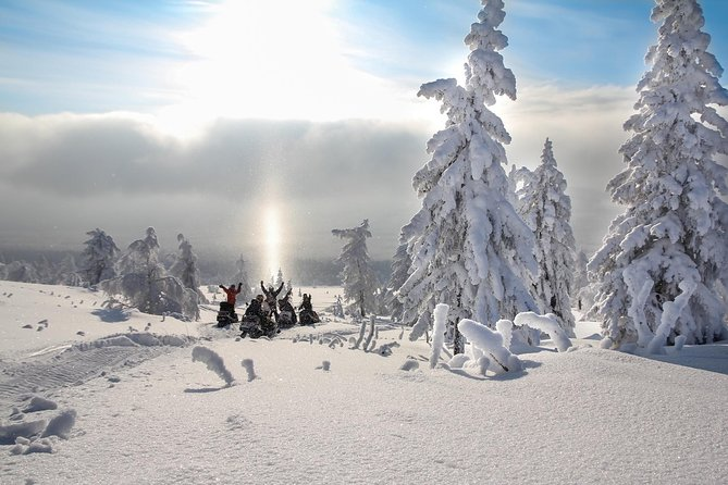 Experience a 3-hours long Snowmobile Safari in Lapland